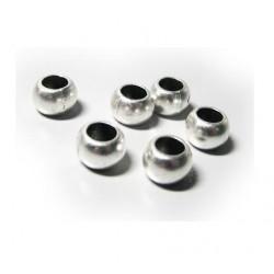 Perle métal grand trou