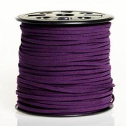 Suédine 3mm Violet foncé