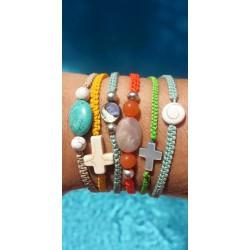 Bracelets macramé multi