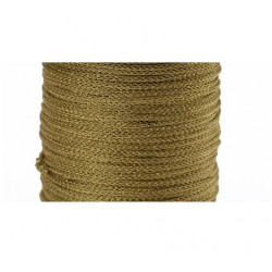 Fil lurex 1.5mm doré