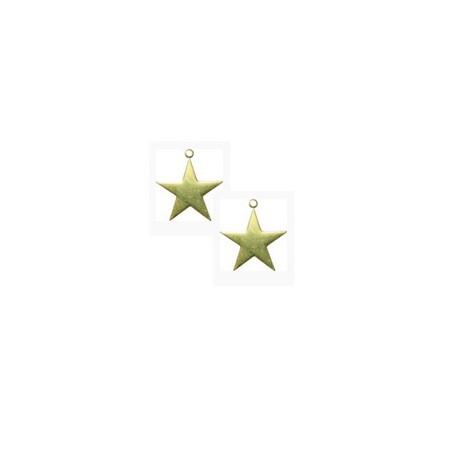 Breloque métal étoile 8.5 mm
