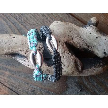bracelet macram corde escalade paracorde la palette. Black Bedroom Furniture Sets. Home Design Ideas