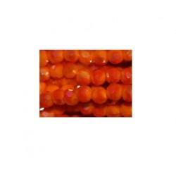 Perle cristal 2mm orange AB