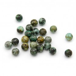 Turquoise Afrique 6mm