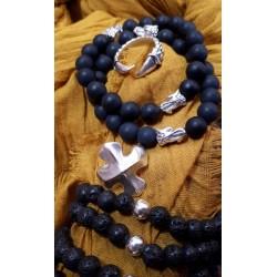 Bracelets pour homme mat