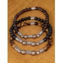 Bracelets homme pierres semi-précieuses
