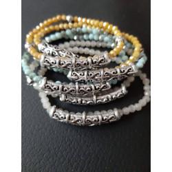 Bracelets cristal etchnique