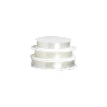 Elastique 0.5mm transparent / 1 bobine