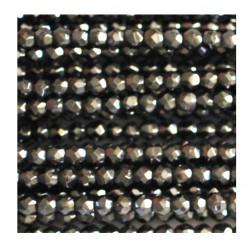 Hématite facettes 2mm