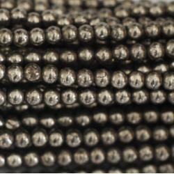 Perle 3mm Hématite
