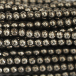 Perle 4mm Hématite