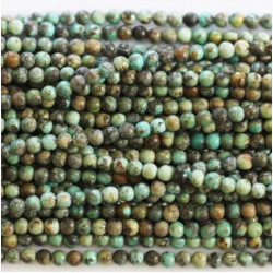 Turquoise Afrique 4mm