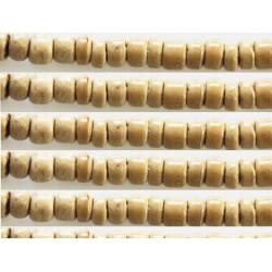 Rondelles bois 4/5mm beige