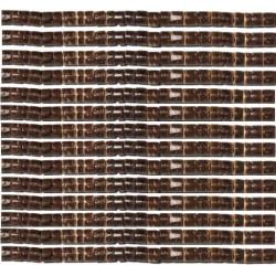 Rondelles bois 3/4mm marron