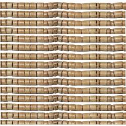 Rondelles bois 3/4mm beige