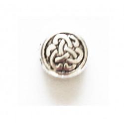 Perle métal 10mm nœud chinois