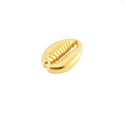 Intercalaire métal cauri 19x13mm doré