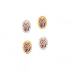 Pendentif métal Notre-Dame de Guadalupe14x10mm