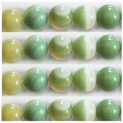 Agate vert d'eau 10mm