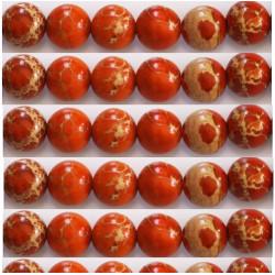 Jaspe orange 8mm