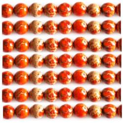 Jaspe orange 6mm