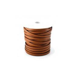 Cuir plat reconstitué 10 MM marron