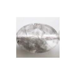 Perle ovale quartz