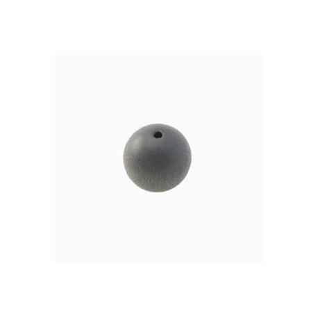 Perles bois 8mm gris