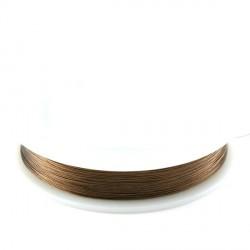 Fil cablé 0.18 bronze