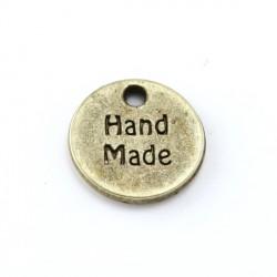 """Médaille """"Hand Maid"""" métal argenté / bronze"""