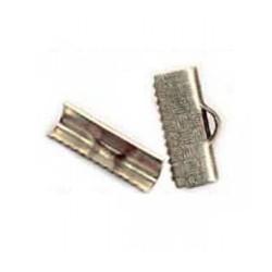 Serre-fil 15mm argenté / bronze / doré
