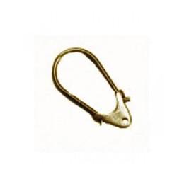 Porte-clefs métal 52x27mm