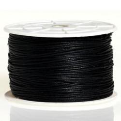 Coton ciré 1MM noir