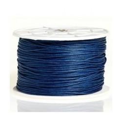 Coton ciré 2mm bleu