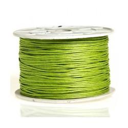Coton ciré 2mm vert
