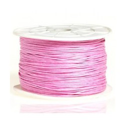 Coton ciré 2mm rose clair