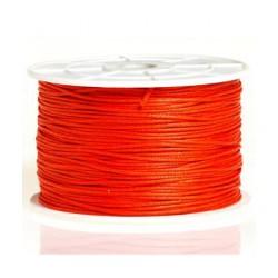 Coton ciré 2mm orange