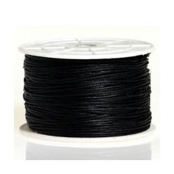 Coton ciré 2mm noir