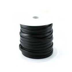Cuir plat veau 10mm noir
