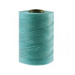 Coton ciré plat 1mm bleu