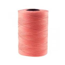 Coton ciré plat 1mm rose