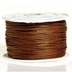 Coton ciré 1MM brun