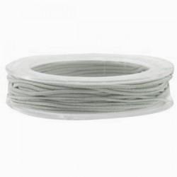 Elastique 1mm gris