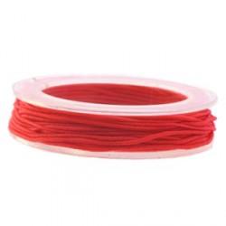 Elastique 1mm rouge