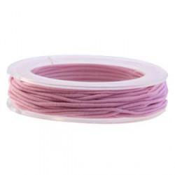 Elastique 1mm rose clair
