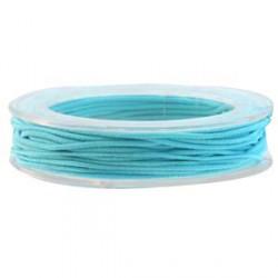 Elastique 1mm turquoise