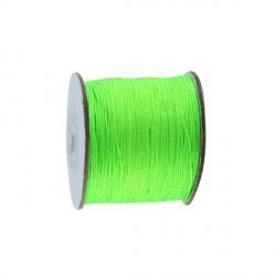 Elastique 1mm vert fluo