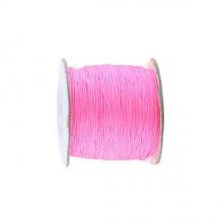 Elastique 1mm rose fluo