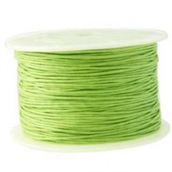 Coton ciré 1MM vert clair