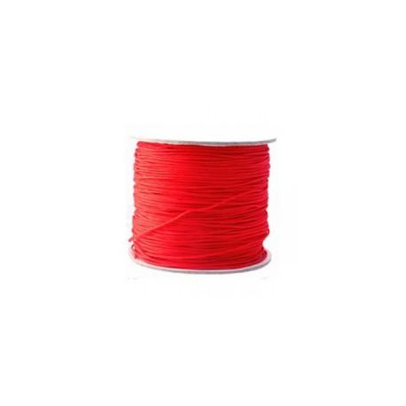Fil synthétique 0.7mm rouge